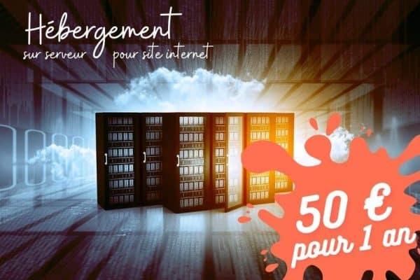 forfait annuel pour héberger son site internet à 50€