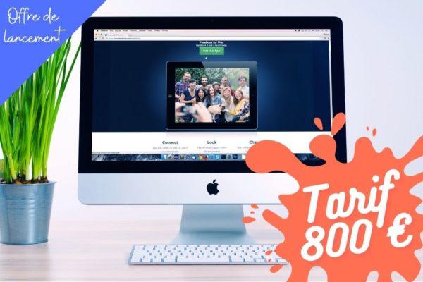 créer un site internet multi page pas cher à 800 €