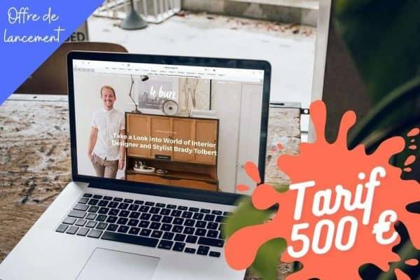 créer un site internet one page pas cher à 500 €