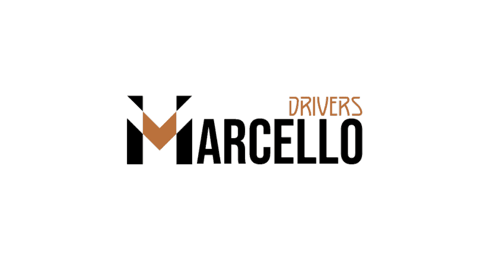 logo marcello driver réalisé par mon site engagé