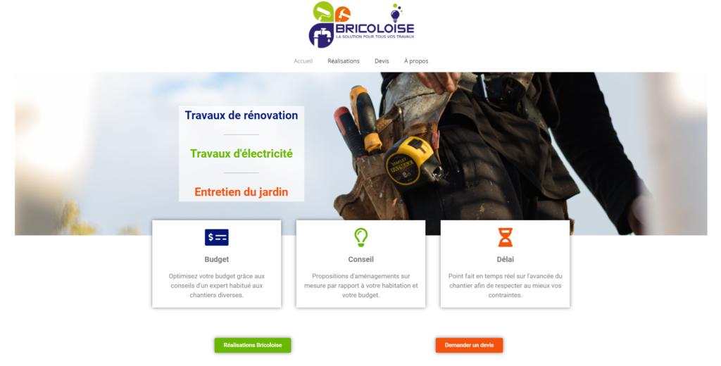 site bricoloise.fr