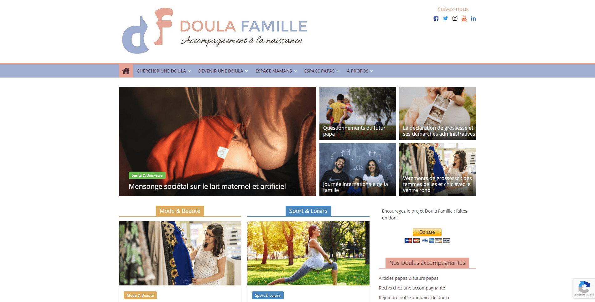 site doulafamille.com